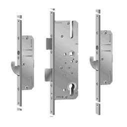 KFV meerpuntssluiting AS 2502 W270 sleutelbediend afgeronde voorplaaat