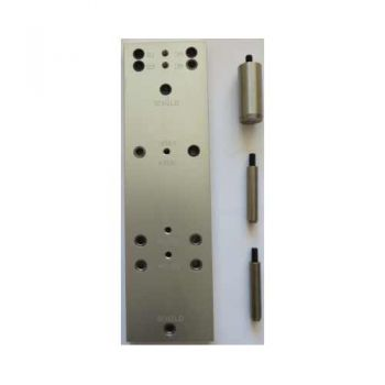 Aluminium boormal voor rozet/schilden hoh 38mm