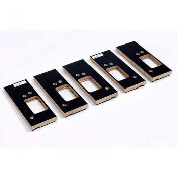 Scharnier freesmal 5-delig 89 x 89 mm (type +) excl. legprofiel, met GRATIS groefbeitel 18 mm